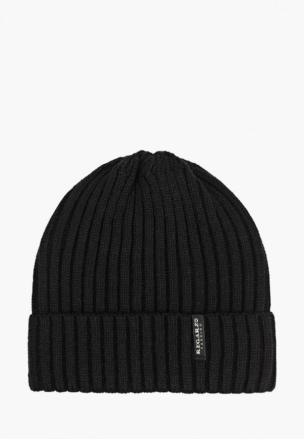 мужская шапка regarzo, черная