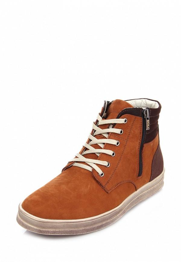 мужские ботинки bosa, коричневые