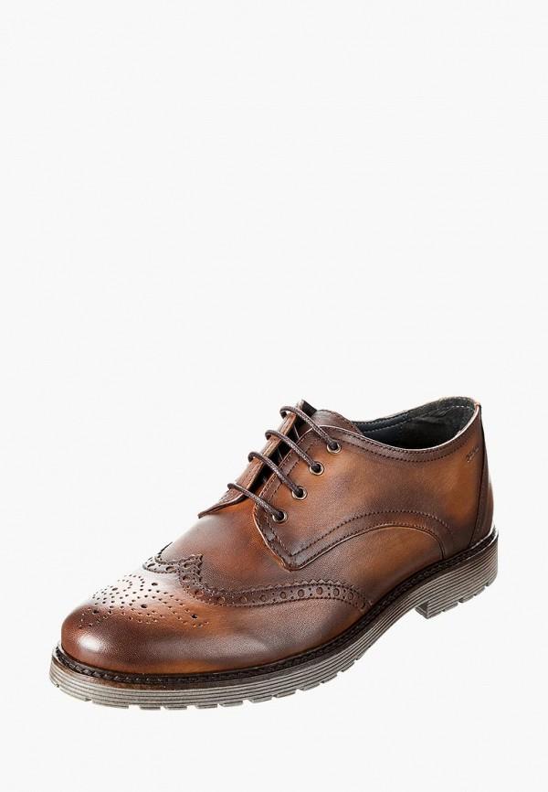мужские ботинки marc, коричневые