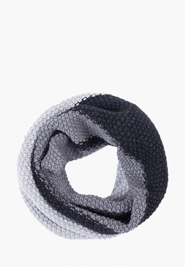 Шарф  серый цвета