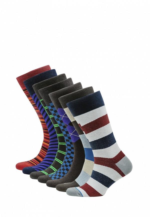 Носки  коричневый, красный, мультиколор, синий, фиолетовый цвета