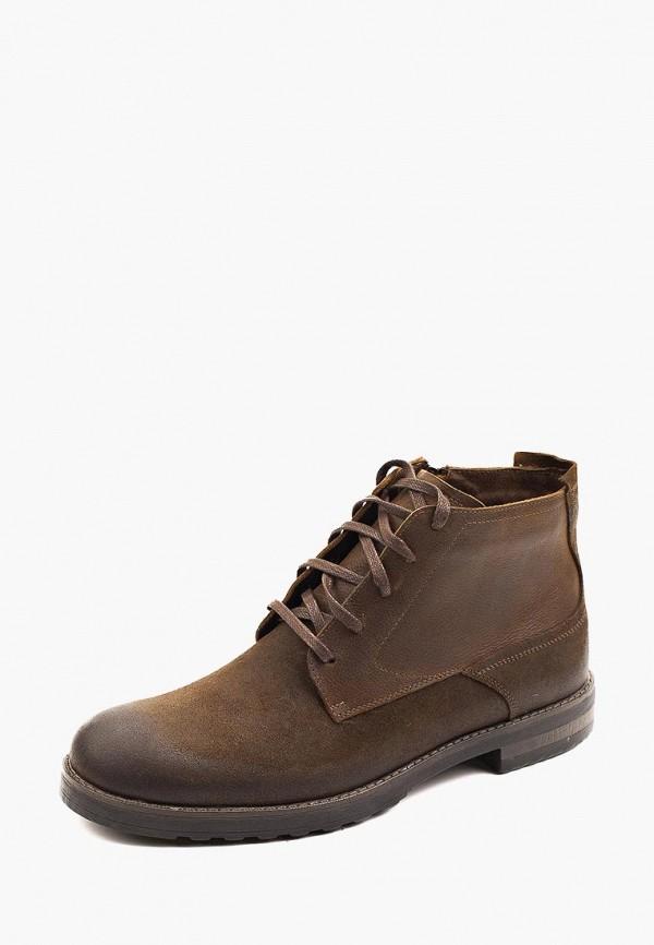 мужские ботинки my kos, коричневые