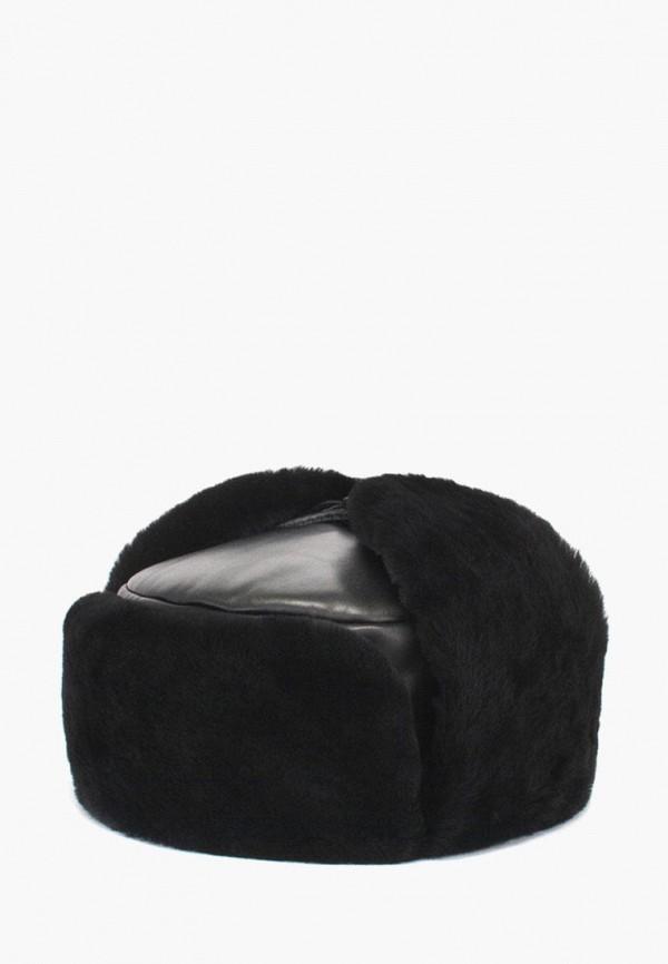 мужская шапка antar, черная