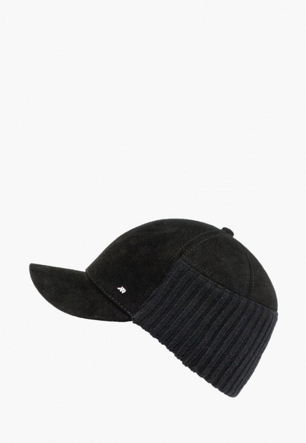 мужская бейсболка antar, черная