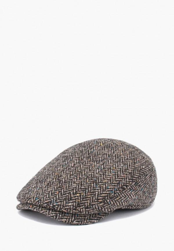 мужская кепка antar, коричневая