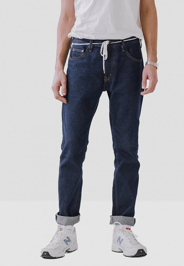 мужские прямые джинсы minnim, синие