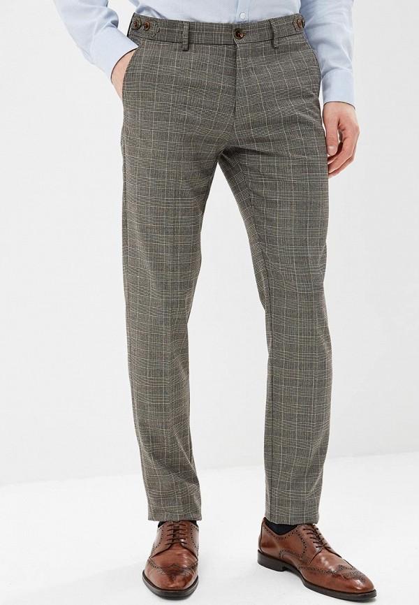 мужские классические брюки angelo bonetti, бежевые