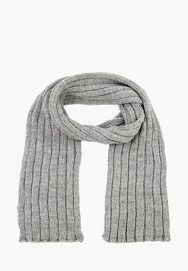 мужской шарф luckylook, серый