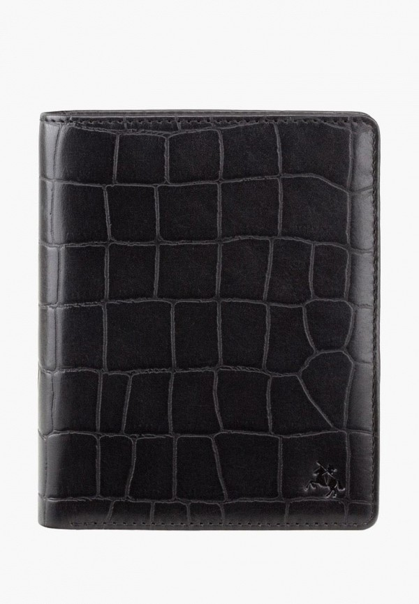 мужской кошелёк visconti, черный