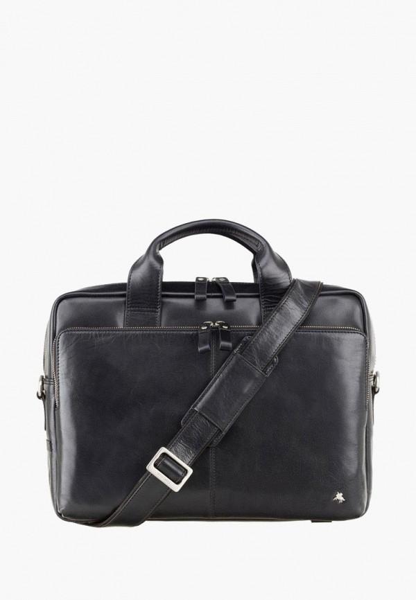 мужская сумка visconti, черная