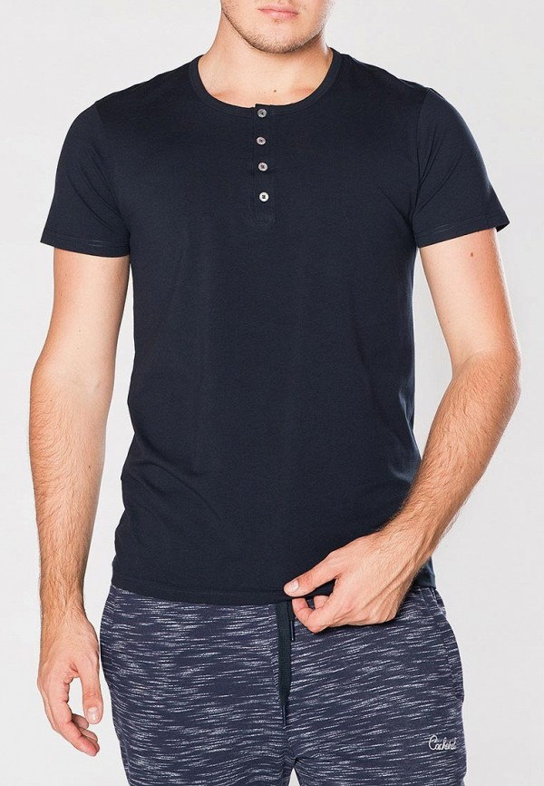 мужская футболка cacharel, синяя