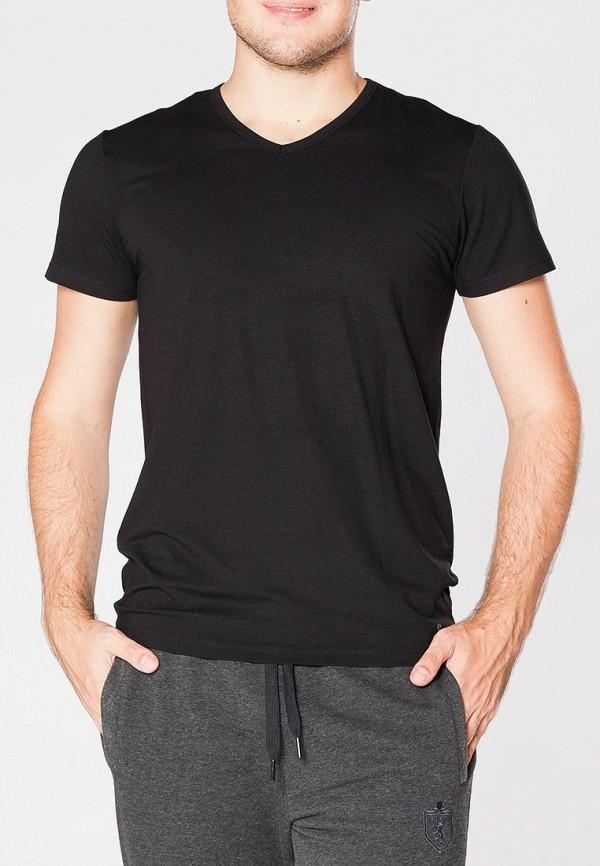 мужская футболка cacharel, черная