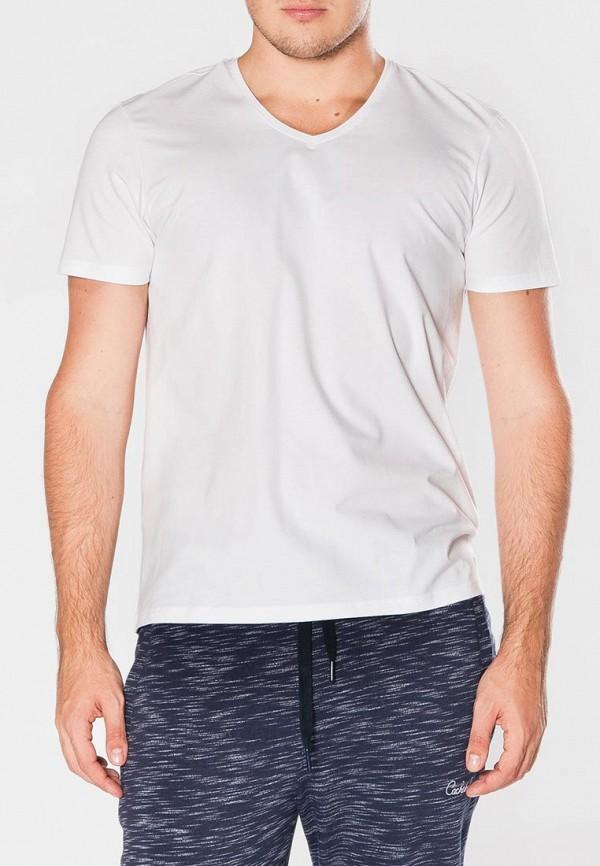 мужская футболка cacharel, белая