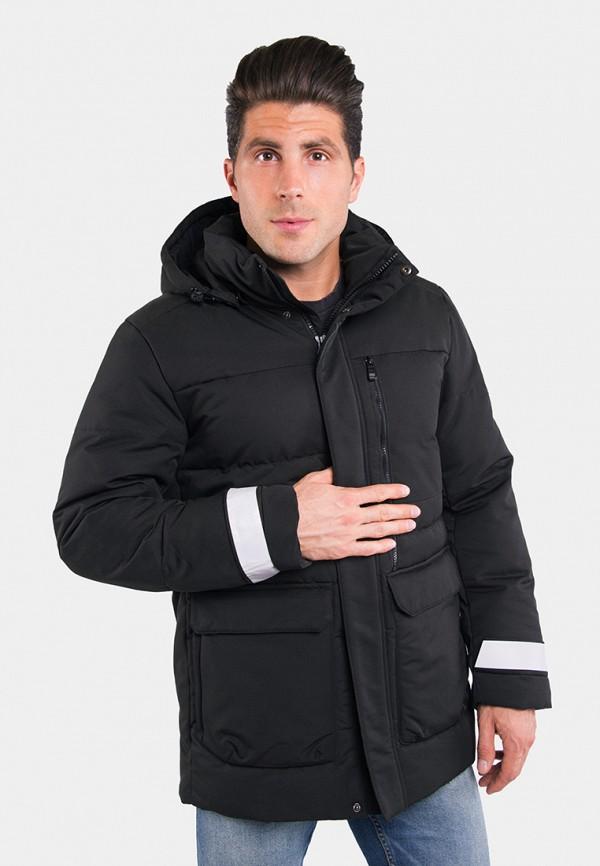 мужская куртка avecs, черная