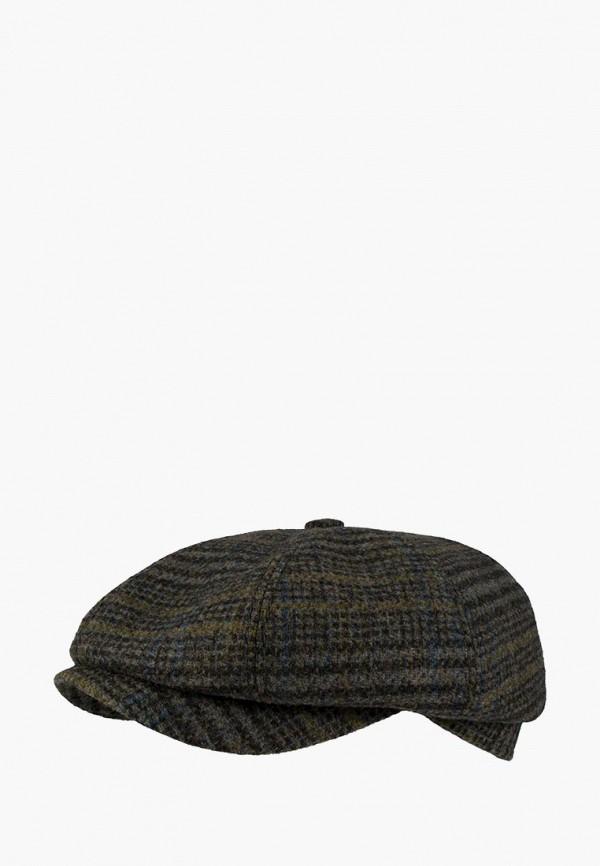 мужская кепка denkor, коричневая