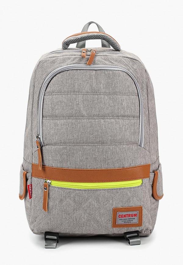 мужской рюкзак centrum, серый
