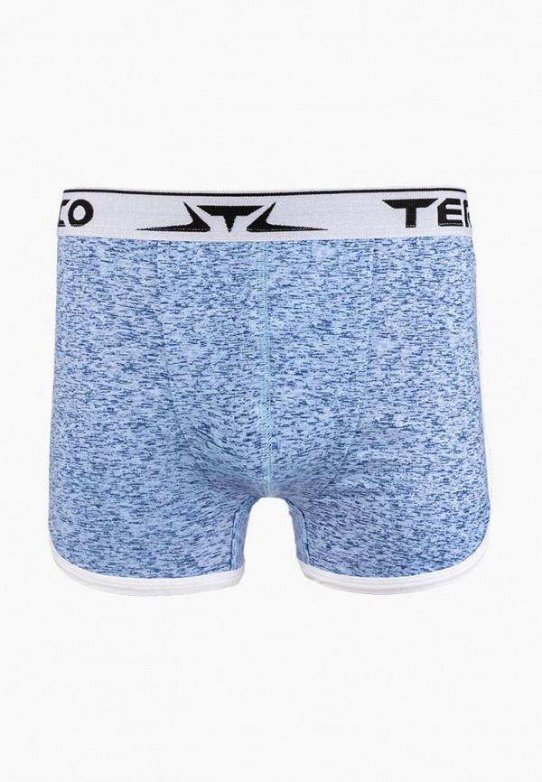 мужские трусы-боксеры termico, голубые