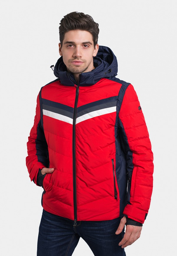 мужская куртка avecs, красная