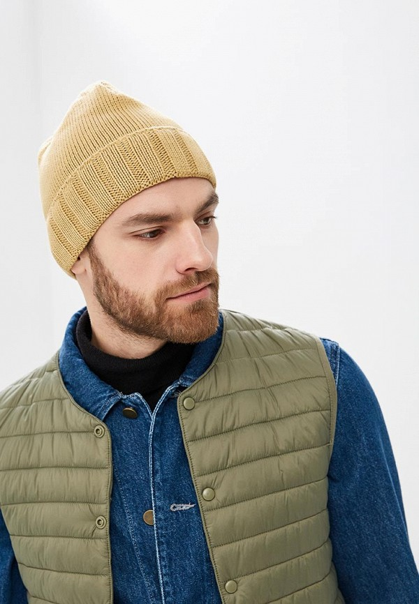 Фото 3 - Мужскую шапку Airobika бежевого цвета
