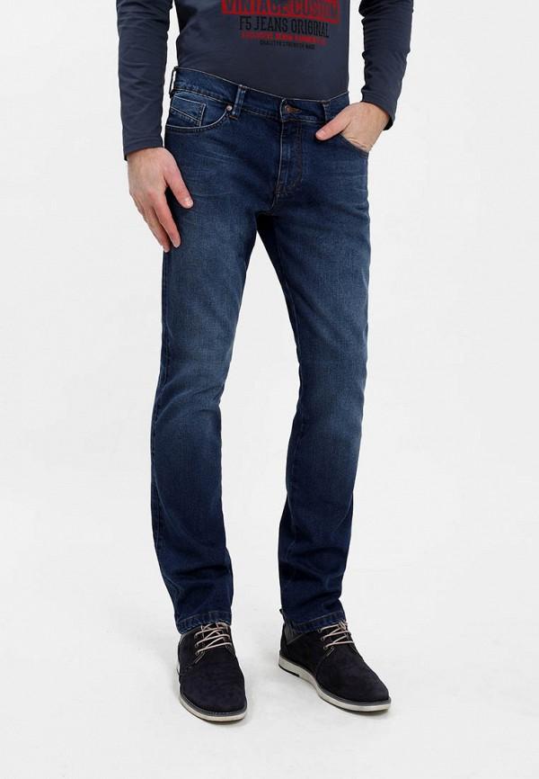 мужские зауженные джинсы f5, синие