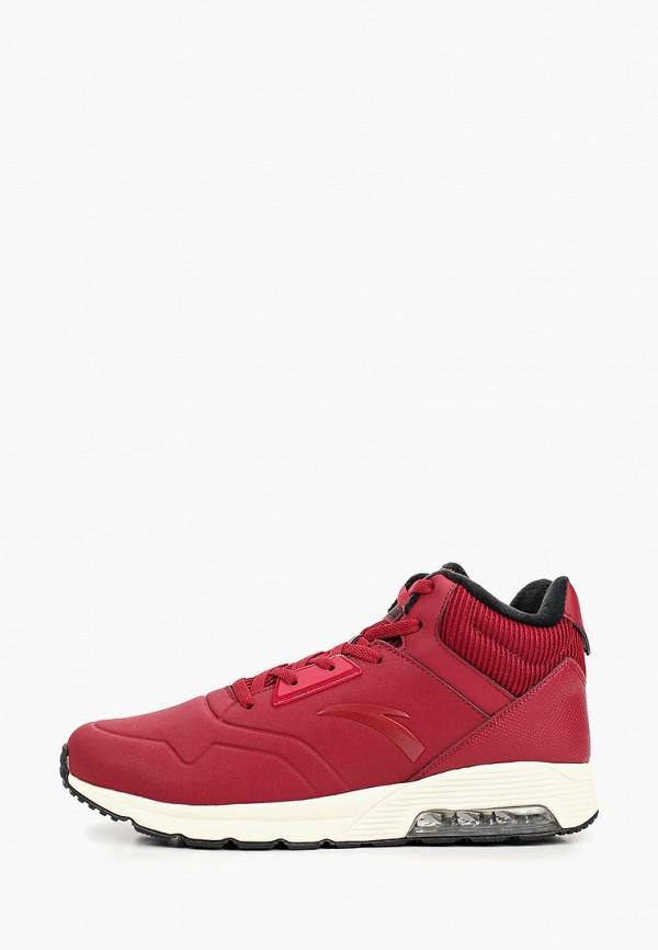 мужские кроссовки anta, бордовые