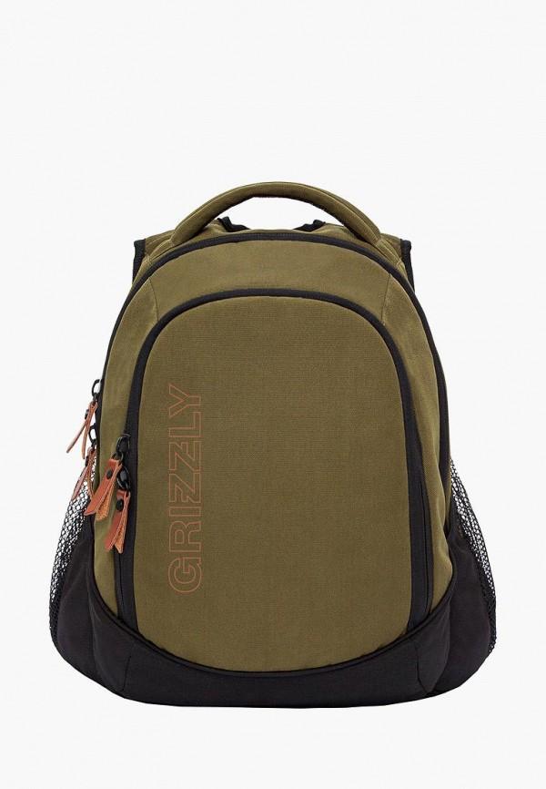 мужской рюкзак grizzly, хаки