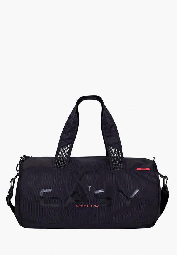 мужская сумка grizzly, черная