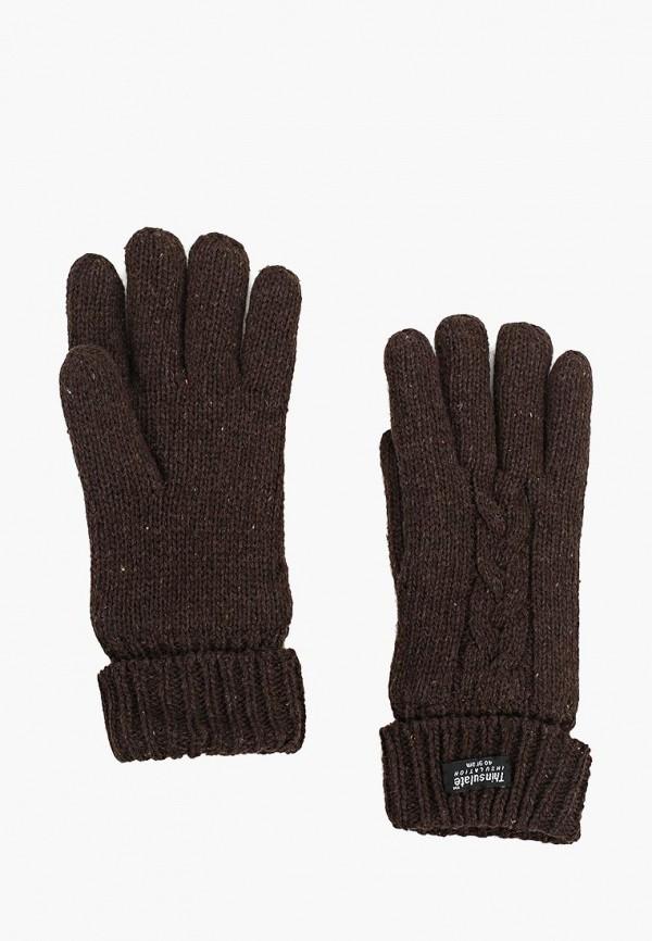 мужские текстильные перчатки modo gru, коричневые
