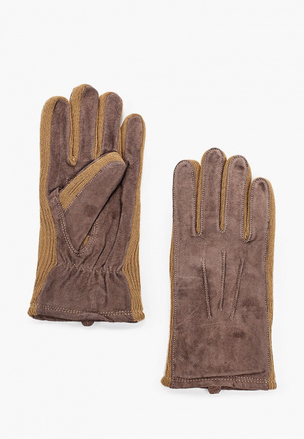 мужские перчатки modo gru, коричневые