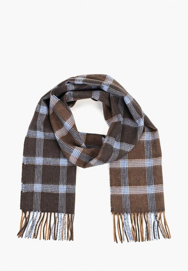 мужской шарф labbra, коричневый