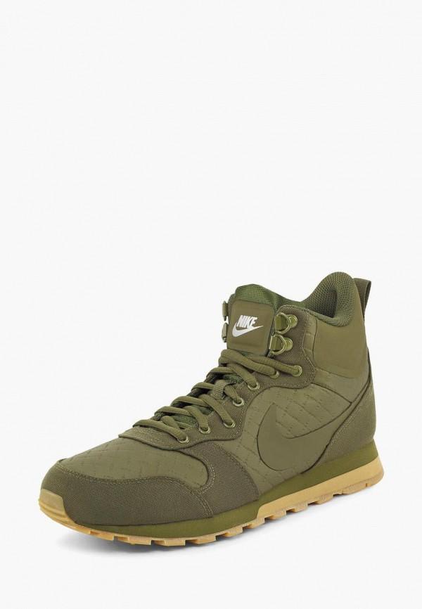 мужские кроссовки nike, зеленые