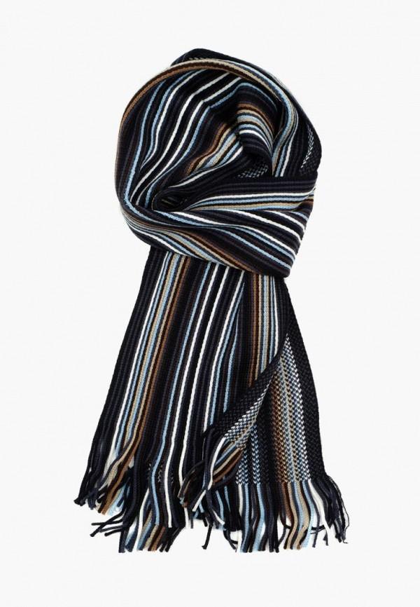 мужской шарф pierre lauren, разноцветный