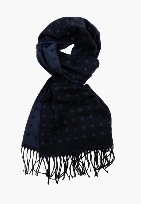 мужской шарф pierre lauren, синий