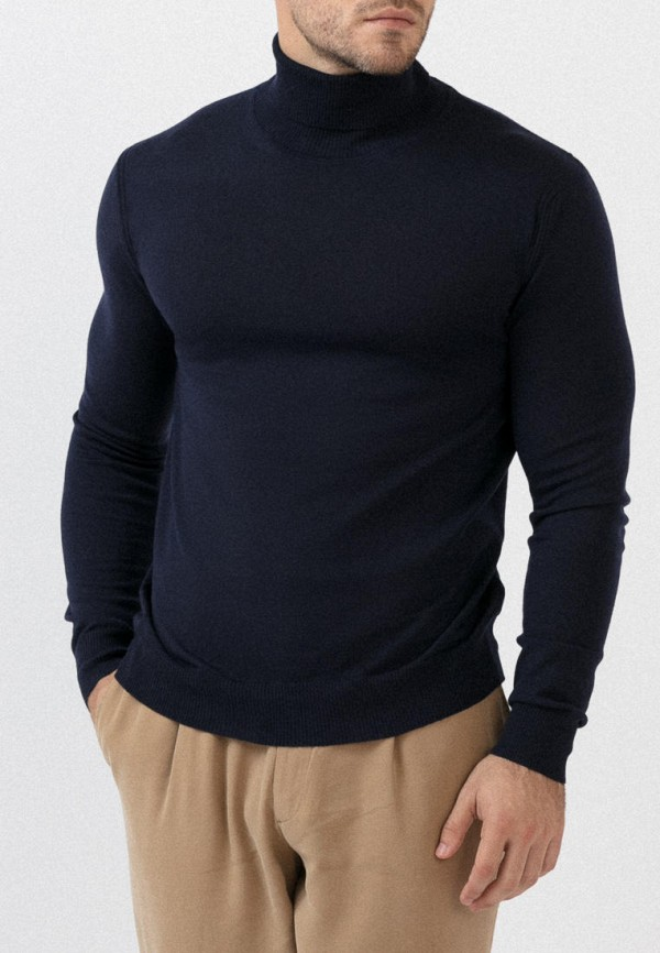мужская водолазка junberg, синяя