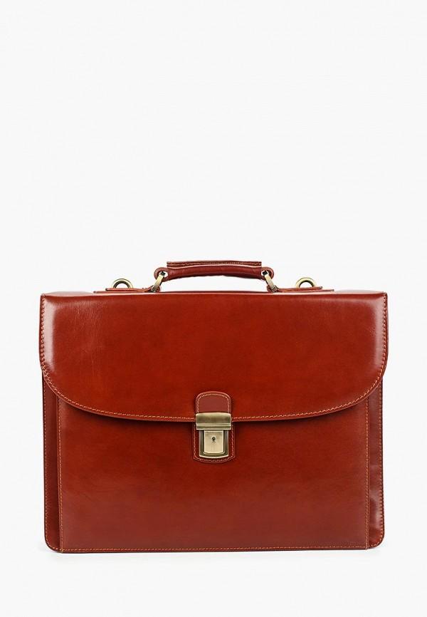 мужской портфель kofr, коричневый