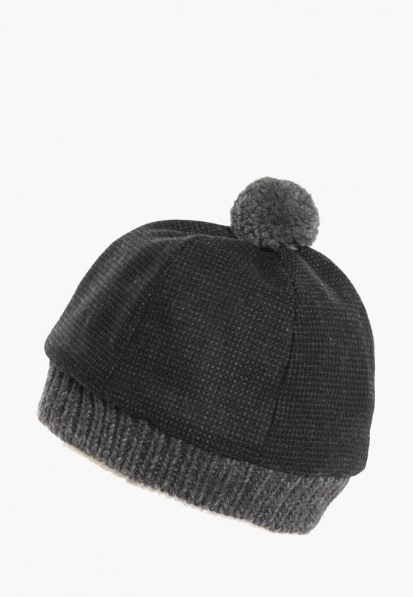 мужская шапка anna bask, черная