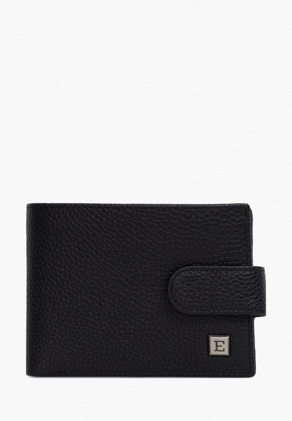 мужской кошелёк eleganzza, черный