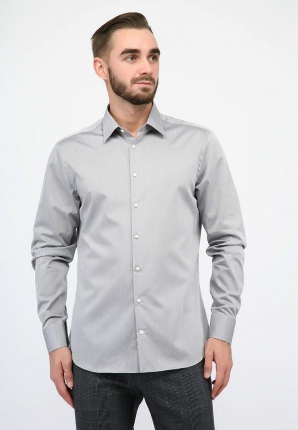 мужская рубашка с длинным рукавом pako lorente, серая
