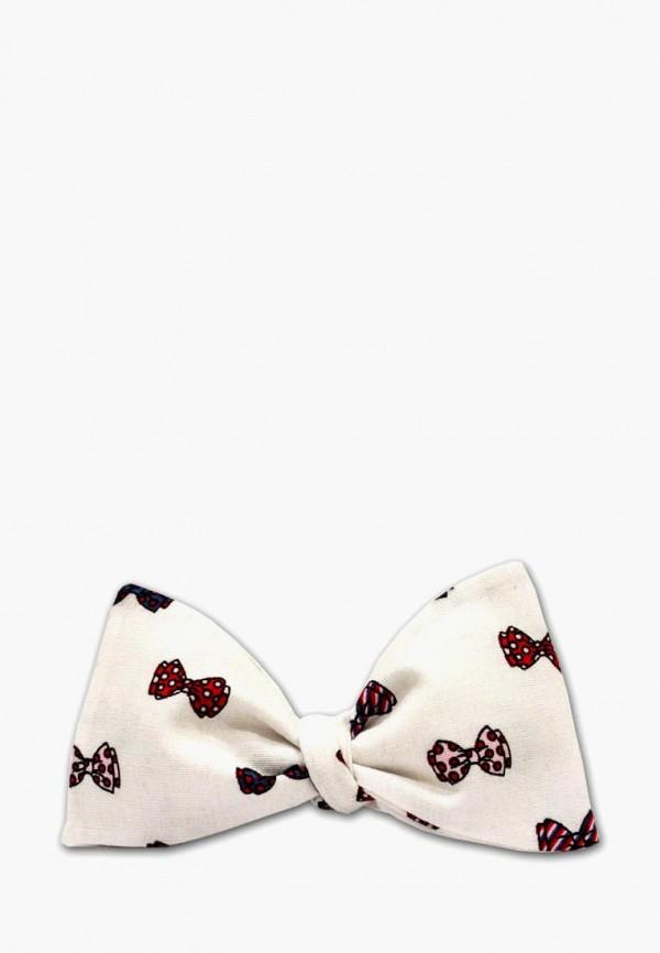 мужские галстуки и бабочки krago, белые