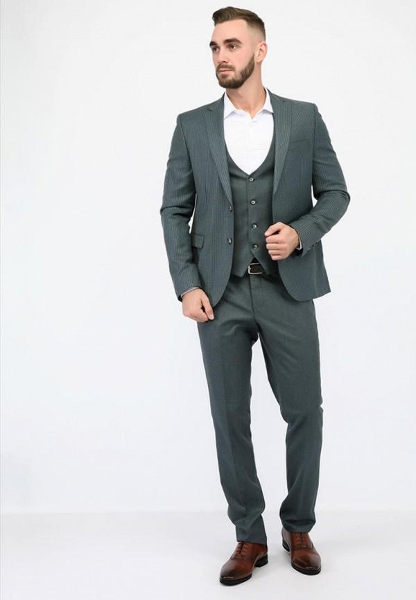 мужской костюм navi, серый