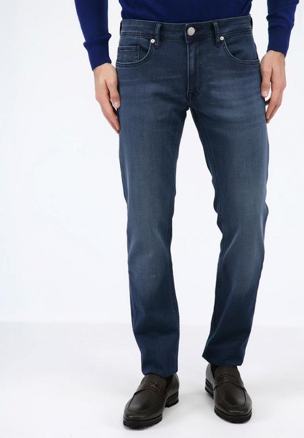 мужские зауженные джинсы pako lorente, синие