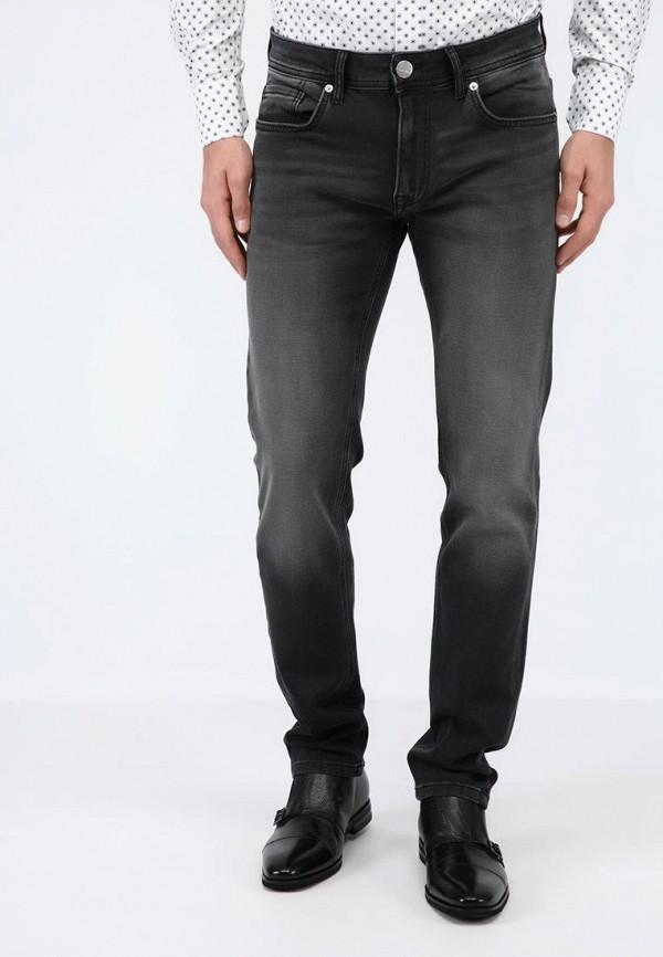 мужские зауженные джинсы pako lorente, серые