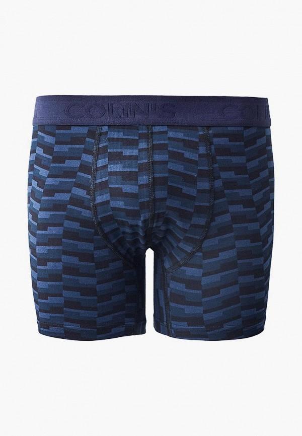 мужские трусы-боксеры colin's, синие