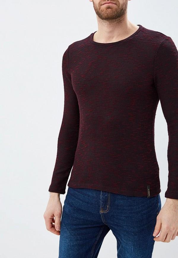 мужской джемпер colin's, бордовый