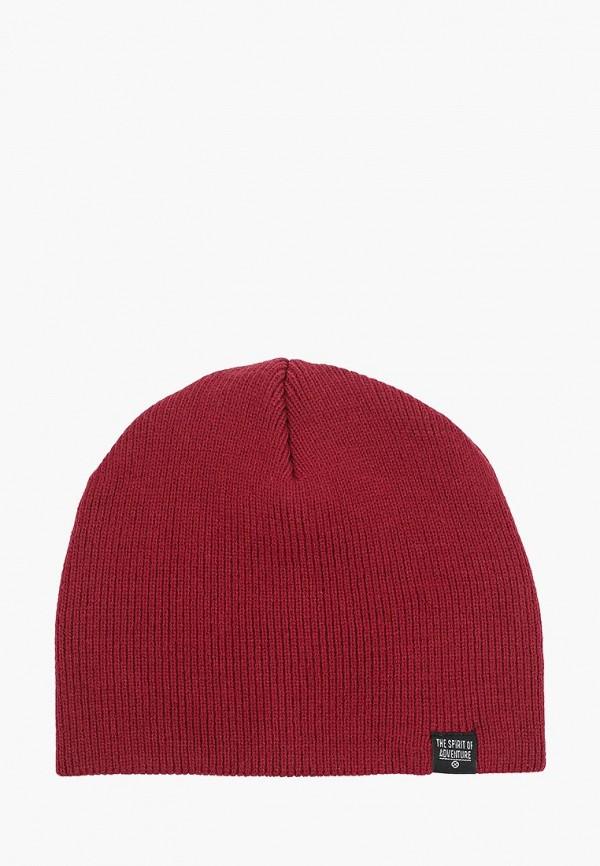 мужская шапка colin's, бордовая