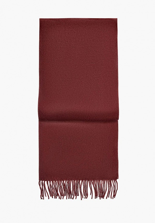Шарф  бордовый цвета