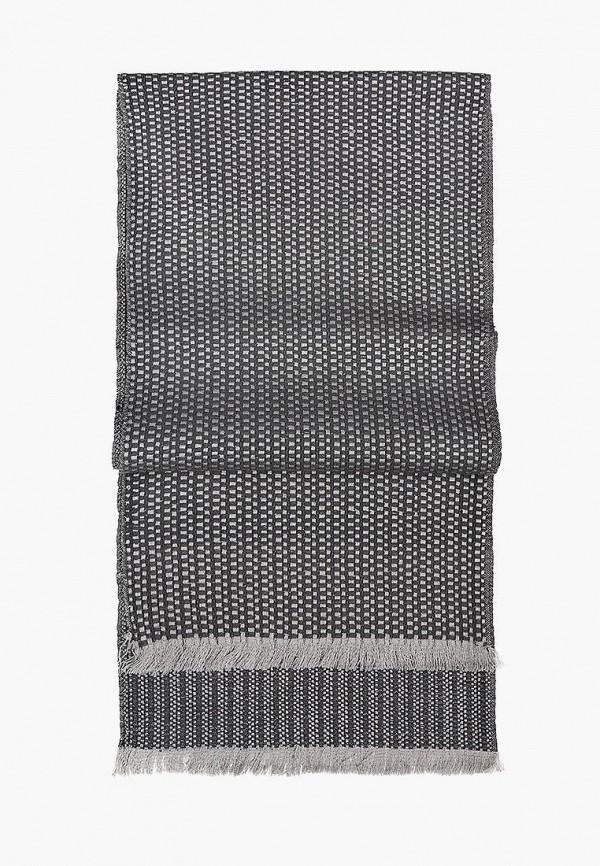 мужской шарф eleganzza, серый