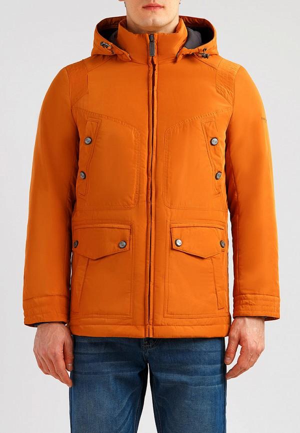 мужская куртка finn flare, оранжевая