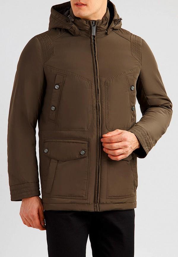 мужская куртка finn flare, коричневая