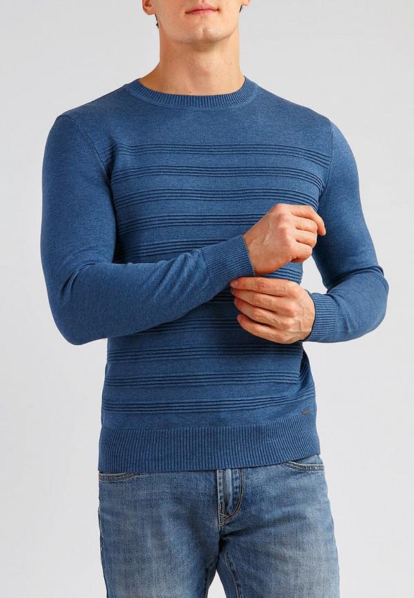 мужской джемпер finn flare, синий